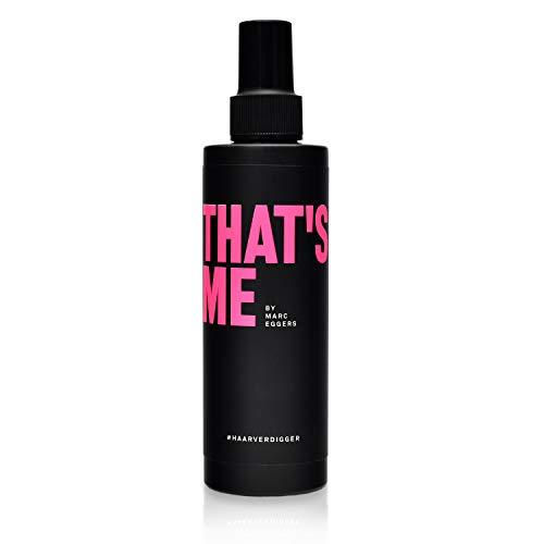 THAT´S ME Haarverdigger Haarverdichtung Spray (200ml) für mehr Volumen und Fülle - Haarverdichtungsspray mit Keratin, Collagen und Provitamin B5 - für Frauen und Männer