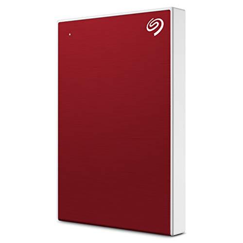 "Seagate Technology HD Externo 2.5"" 1TB USB3.0 Rojo Backup Plus Slim Retail (STHN1000403)"