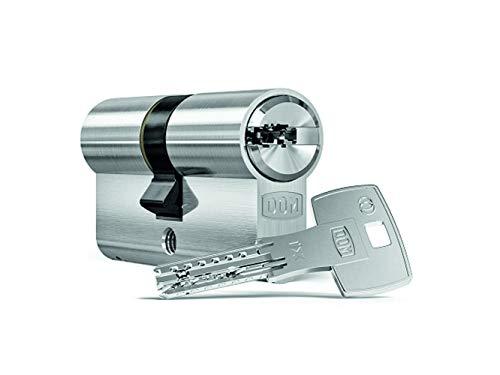 Schließzylinder DOM ix Twido Doppelprofilzylinder Länge: 45/45mm mit Bohr- und Ziehschutz mit 7 Schlüssel