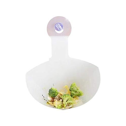 Recycelbares einfaches Spülbecken Sieb PVC Küche freistehende Spüle Spülbecken Anti-Blocking-Filter für zu Hause 1St