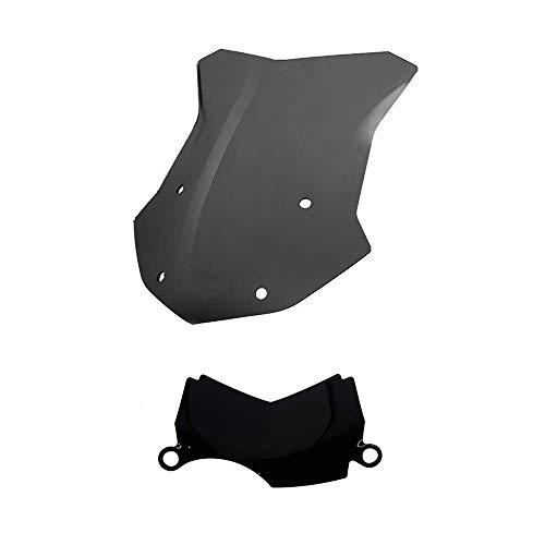 Paravento cupolino Parabrezza ADVENTURE + deflettore centrale aria nero fumè R1200GS LC STANDARD ADVENTURE 2013-2018