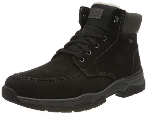 Rieker Herren 31240 Mode-Stiefel, schwarz, 42 EU