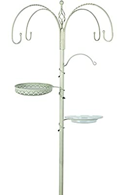 Gardman Decorative Bird Feeding Station - Cream by Gardman