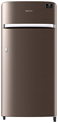 Samsung 198 L 3 Star Direct-Cool Single Door Refrigerator (RR21T2G2YDX/HL, Luxe Brown)