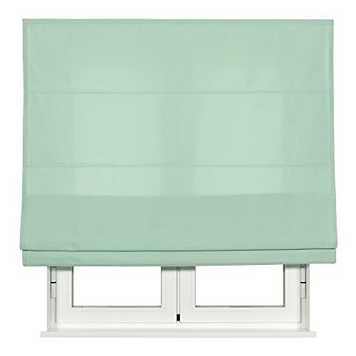 VIEWTEX - Estor Plegable Crystal TREVIRA - Disponible en Varias Medidas y Colores (Menta, 135x250)