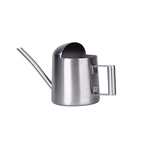 IMEEA Super Tiny Watering Can Mini Watering Can for Indoor Plants Bonsai Stainless Steel Little Watering Can, 11oz/300ml