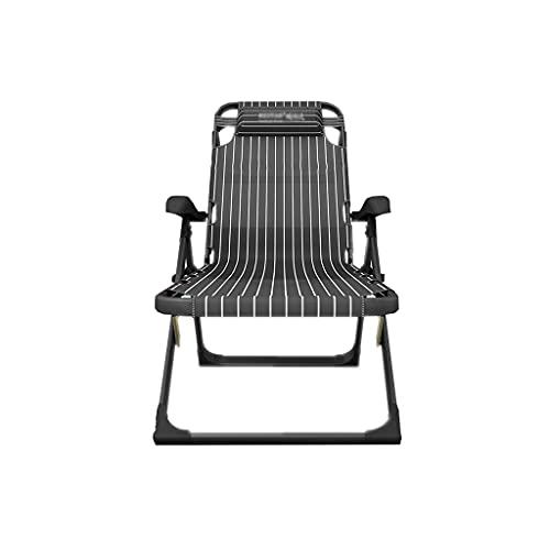 FGJKKRMI Zero Gravity-Patio-Stühle liefern, Rasen-Recliner, Liege-Terrasse Liegestuhl, 180 Grad-Gradden-Strand-Camping im Freien Schaukeldeck-Stuhl-Faltstuhl-Hauptstuhl (440 Pfund)