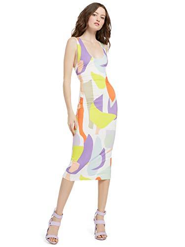 alice + olivia James Scoop Neck Dress - GEO Collage - 4