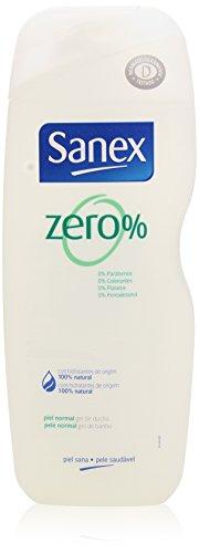 Sanex Zero % - Gel de Ducha para Piel Normal - 600 ml