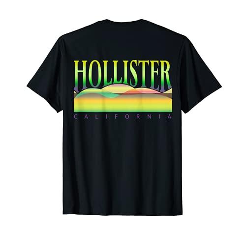 HOLLISTER CA. HILLS, HOLLISTER CA. HILLS, BACK Camiseta