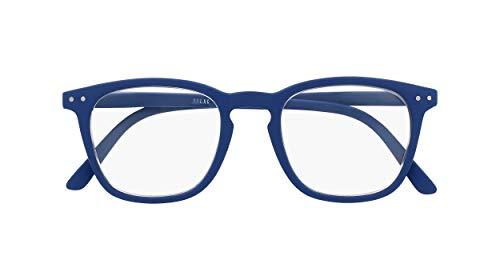 Silac - Blue Rubber 7501 - Gafas de Lectura Unisex - Para Hombres y Mujeres - Gafas de Cerca - para Presbicia - Ligeras y Resistentes - Dioptrías +2.00 - Azul