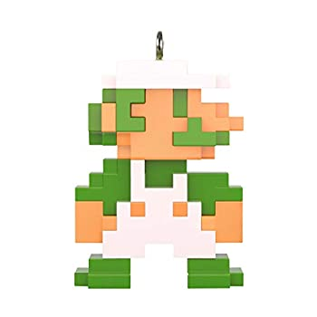 Hallmark Keepsake Christmas Ornament 2020 Mini Nintendo 8-Bit Luigi 0.77