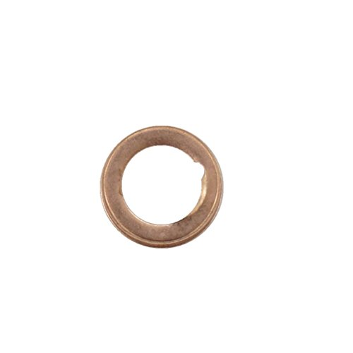 10 Pcs Copper Oil Drain Plug Gasket Crush Washers Seal for Nissan Rogue Sentra Xterra Altima Frontier Armada Jukes 350Z Infiniti G35 G37, Replacement for The Part # 11026-01M02, Used for Oil Change