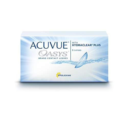 ACUVUE OASYS with HYDRACLEAR PLUS - Lenti Quindicinali - protezione UV - 6 lenti