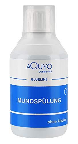 Blueline antibakterielle Mundspülung, bei Zahnfleischentzündung und Mundgeruch, ohne Alkohol, wirkt antibakteriell, für eine gesunde Mundhygiene (250ml)