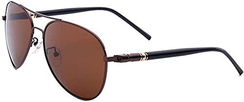 Gafas de sol polarizadas de moda de los hombres título material de PC para la conducción o la actividad deportiva