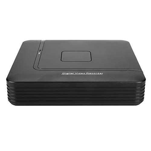 Qinlorgon 8-Kanal-Überwachung Echtzeit-Aufzeichnung Full HD-CCTV-Kamera NVR 1080P ONVIF-Protokoll Netzwerk-IP-Recorder-Sicherheitssystem(EU)