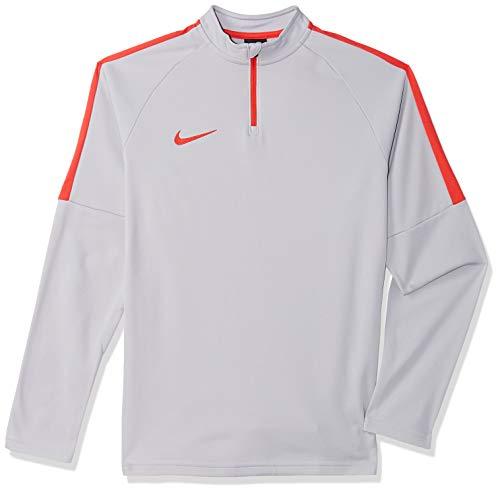 Nike Academy Drill T-Shirt à Manches Longues pour Enfant XS Wolf Grey/Light Crimson