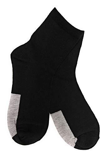 StaticTek Anti Static Socks - Earthing Grounding for ESD Shoes (2 Pairs)