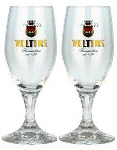 2x Veltins Half Pint zu Line Goblet Glas (2Gläser)