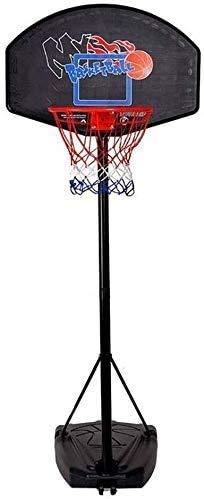 SONGYU-Basketball-Ständer Tragbare Basketballkorb-System Auf Rädern, In-Ground Basketball-Standplatz Junior Hoop Tor for Kinder/Erwachsene, Höhenverstellbarkeit Sport Einstellbare Basketballkorb