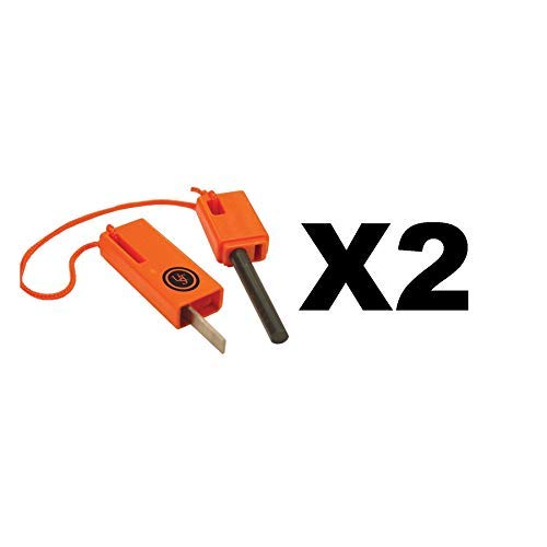 Ultimate Survival Technologies Sparkforce Fire Starter Orange Striker (2-Pack)
