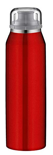Alfi isoBottle - Termo (acero inoxidable, 0,5 L), color rojo