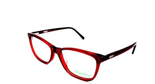 Puma Red PE0018-001 Eyeglasses W/Demo Lens 52mm