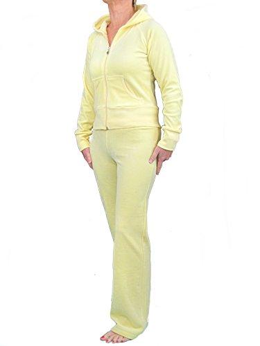 Love Lola® damskie welurowe dresy damskie pełne kombinezony wypoczynkowe bluzy z kapturem biegacze serce projektant inspirowany