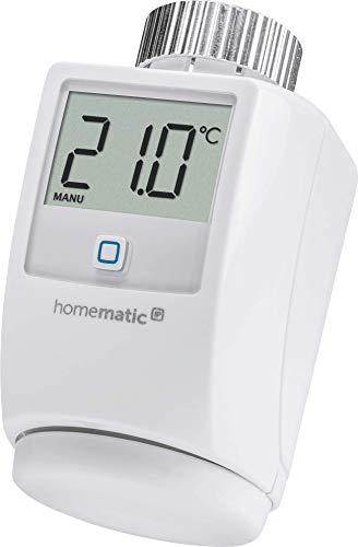 Homematic IP Smart Home Heizkörperthermostat – Standard - Intelligente Heizungssteuerung per App und Sprachsteuerung mit Amazon Alexa, 140280A0