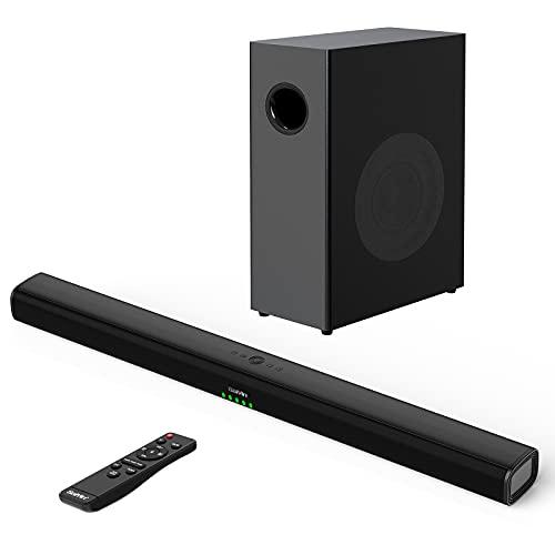 Soundbar mit Subwoofer für TV Geräte,...