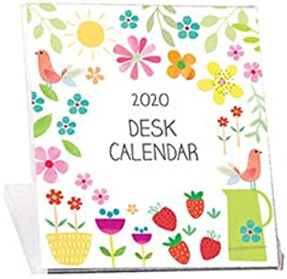 2020 Floral CD Case Desk Calendar- Sally's Garden