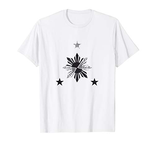 Filipino Heritage Shirt - Tribal Warrior Tattoo Design