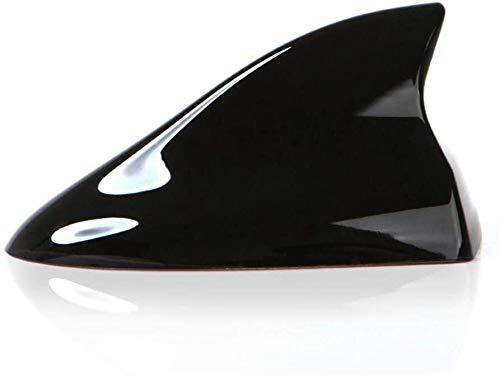 Antenas de Tiburones automotrices portátiles Amplificador de señal Antena Antena Antena Styling Styling Ajuste para Honda Jazz Coche Accesorios DE Techo 1.16 (Color : Black Standard Style)