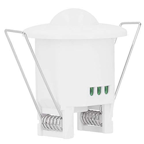 Asixxsix Bewegungssensorschalter, automatische Infrarot-Omni-Directional-Sensing-Lichtschalter für Kunststofflicht, Office for Home
