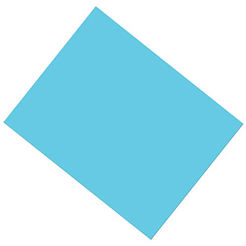 Pacon PAC53871 Coated Poster Board, Light Blue, 22