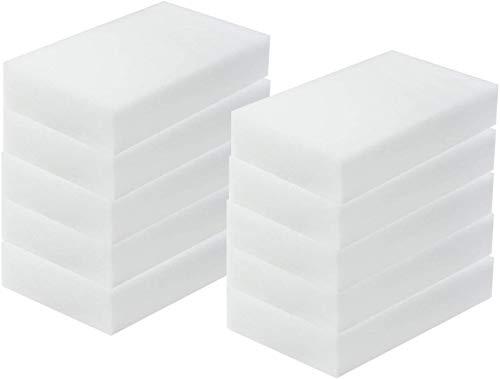 Esponja mágica, borrador de suciedad, 10 x 6 x 2 cm (10 unidades)