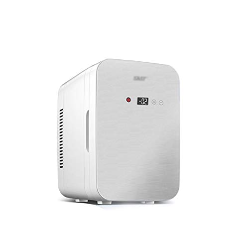 8L Mini Fridge, Portable Freezer, Large Capacity Compact Cooler And Warmer With Digital Thermostat Display And Control Temperature, Single Door Mini Fridge Freezer For Cars, Road Trips, Homes, Office