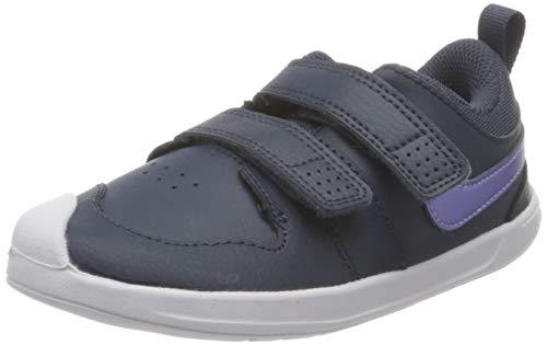Nike Jungen Unisex Kinder Pico 5 Tennis Shoe, Thunder Blue/Purple Pulse-Light Dew-Fireberry, 23.5 EU