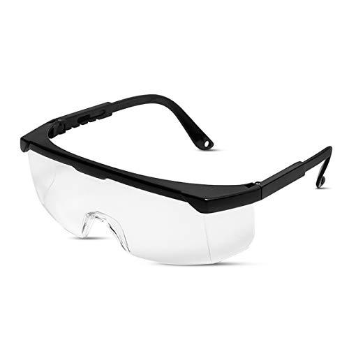 LumiSyne Gafas De Seguridad Adultos Niños Gafas Protectoras Transparentes Anti Niebla Anti-Chapoteo Protecciones Para Los Ojos Bricolaje,Atención Médica,Laboratorio De Quimica,Actividad Al Aire Libre