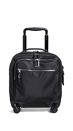 TUMI - Voyageur Osona Compact Wheeled Carry-On Luggage - 16 Inch Rolling Suitcase for Women - Black/Silver