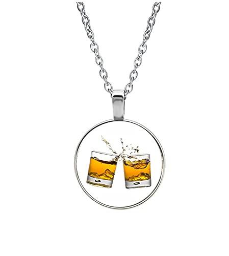 Collar Cristal - Whisky