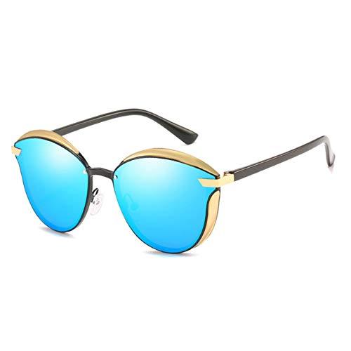 AEF Gafas Sol para Mujer Polarizadas Moda Protección UV400 Gran Tamaño Gafas Sol para Señoras, Marco Ultraligero,4