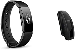 Fitbit Inspire & Inspire HR Health & Fitness Tracker with Auto-Exercise Recognition, 5 Day Battery, Sleep &Swim Tracking