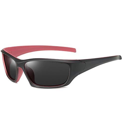 GY-Lmap Gafas de Sol polarizadas Hombres/Damas; Vintage/clásico/Marco de espectáculo Elegante; Lentes piloto HD; Golf/conducción/Pesca/Gafas de Viaje/Gafas de Sol Deportivas al Aire Libre,Rosado
