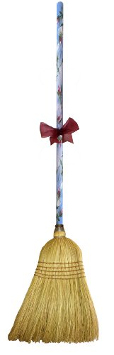 Price comparison product image Cute Tools Garden Broom - Landscaping Instrument,  Sweep and Dust With This Garden Accessory,  Hand Painted Wooden Broomstick In The USA,  Durable Yard and Gardening Equipment From CuteTools! - Art For A Cause,  7th Heaven