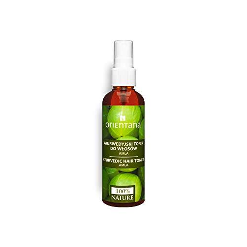 Orientana - Tonique capillaire ayurvédique à l'Amla Neem - 99,7% Naturel - 100% Vegan - sans huiles - renforce les cheveux et prévient la chute des cheveux, 100 ml