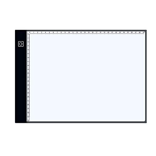 Tableta digital LED caja de luz LED control táctil regulable dibujo seguimiento animación tablero de copia tablero de mesa placa de panel A4 tres velocidades