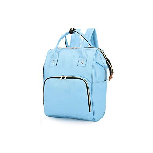 Nappy tas luiertas rugzak multifunctionele reisrugzak met wisselende pad wandelwagen riem laptop rugzak voor werkende moeder grote capaciteit waterdicht en stijlvol