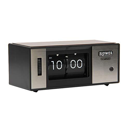 LXYYSG Flip Reloj, Relojes de Escritorio Reloj Sobremesa, Reloj Flip de Números, Despertador Electronico de Viaje Reloj Digital Casa Mesilla Alarm, para la Cocina, Hogar, Regalo